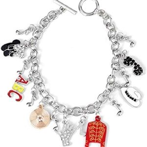 Michael jackson themed bracelet